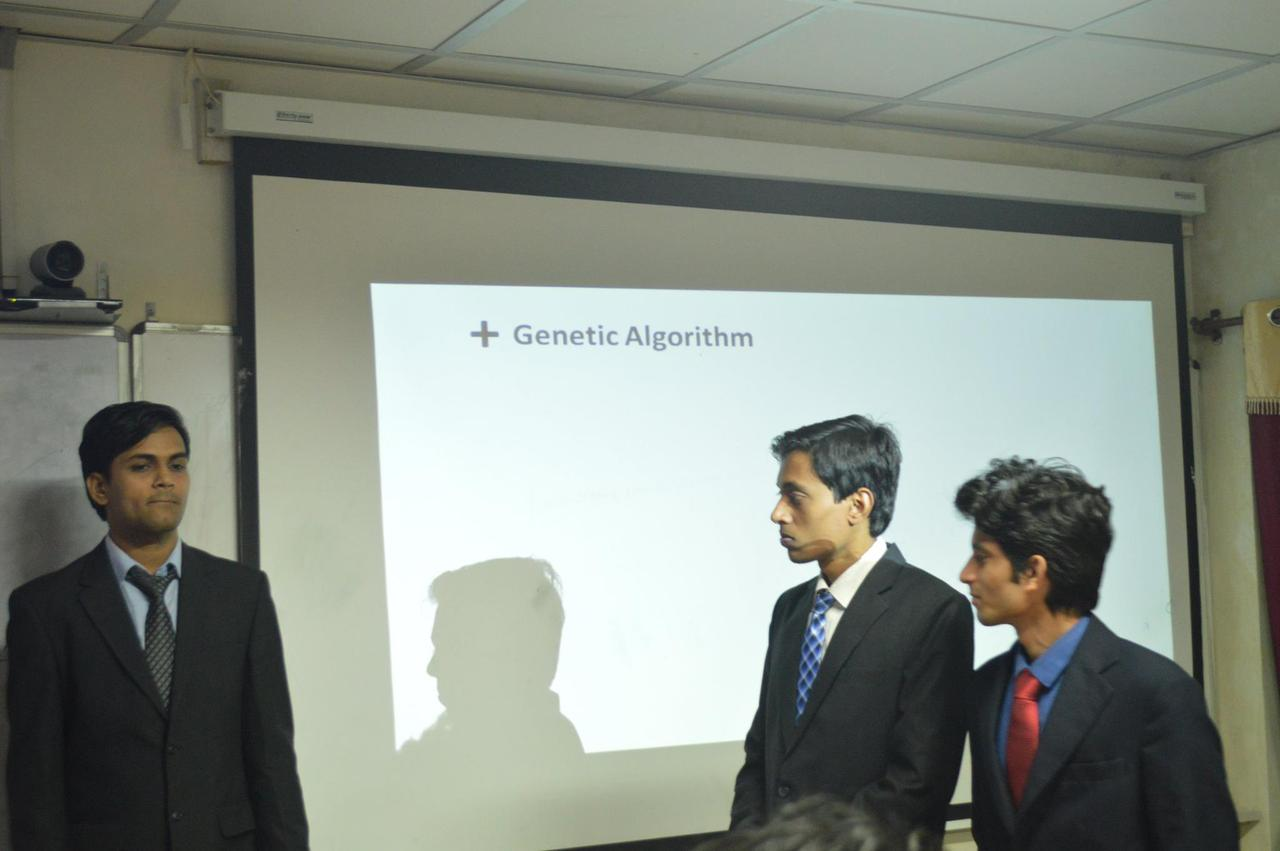 A click during InterIIT Presentation